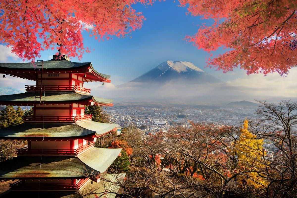 Японский пейзаж картинки
