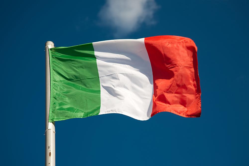 сборная картинка флаг италии для гипсокартона